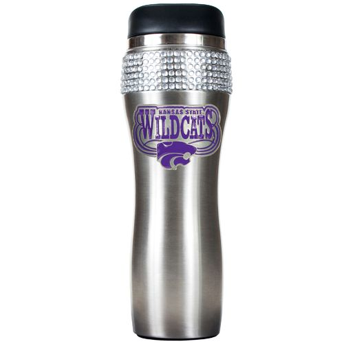 Great American Products Kansas State University 14 oz. Stainless-Steel Bling Tumbler