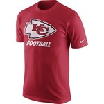 Nike Men's Kansas City Chiefs Facility T-shirt
