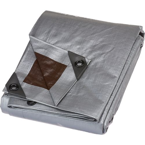 Academy Sports + Outdoors 8 ft x 10 ft Heavy-Duty Polyethylene Tarp