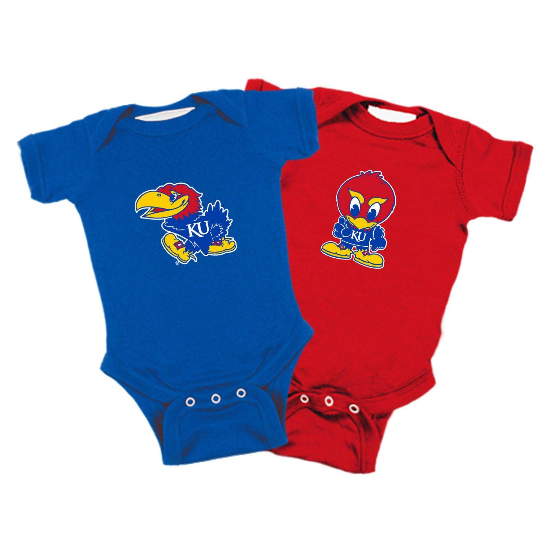 Kansas Jayhawks Infants Apparel