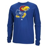 adidas Men's University of Kansas School Logo T-shirt