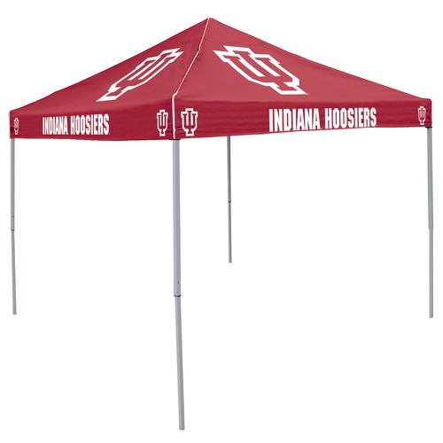Logo™ Indiana University Straight-Leg 9' x 9' Color Tent