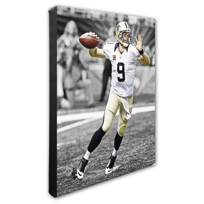 "Photo File New Orleans Saints Drew Brees 8"" x 10"" Spotlight Action Photo for sale"