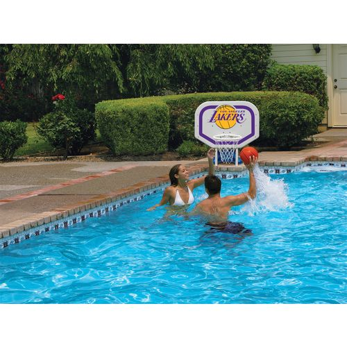 Poolmaster® Los Angeles Lakers Pro Rebounder Style Poolside Basketball Game - view number 2