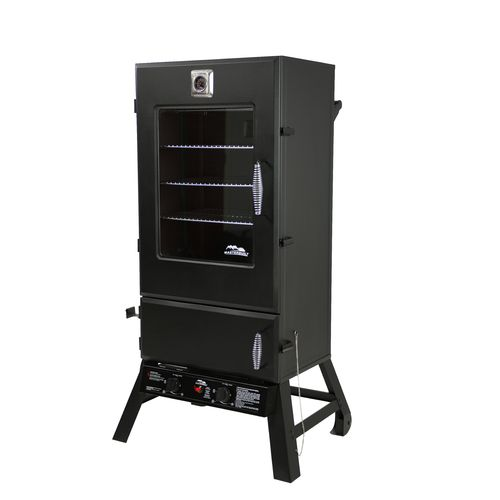 "Display product reviews for Masterbuilt 44"" Gas Smoker with Window"