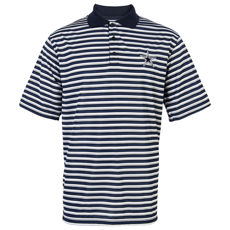 Dallas cowboys men 39 s dayton polo shirt academy for Dallas cowboys fishing shirt