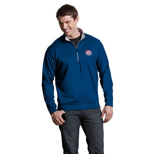 Antigua Men's Texas Rangers Leader Pullover