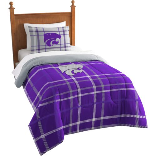 The Northwest Company Kansas State University Twin Comforter and Sham Set