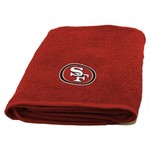 The Northwest Company San Francisco 49ers Appliqué Bath Towel - view number 1