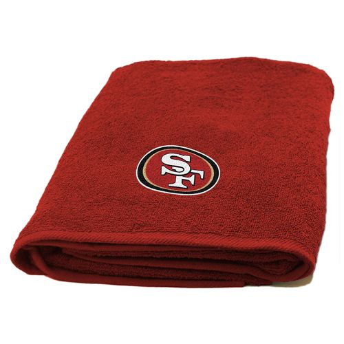 The Northwest Company San Francisco 49ers Appliqué Bath Towel