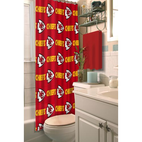 The Northwest Company Kansas City Chiefs Shower Curtain