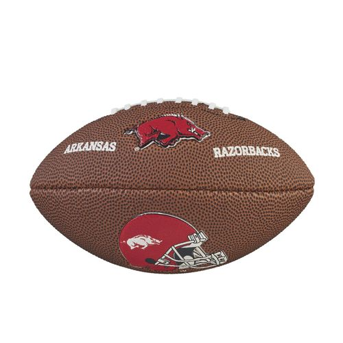 Wilson University of Arkansas Mini Team Logo Football