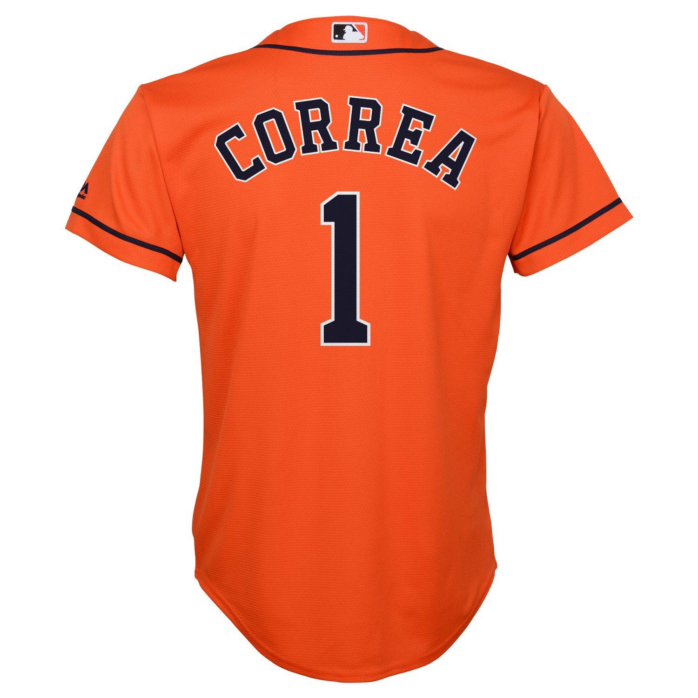 MLB Boys' Houston Astros Carlos Correa #1 Cool