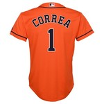 MLB Boys' Houston Astros Carlos Correa #1 Cool Base Jersey
