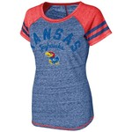 Touch by Alyssa Milano Women's University of Kansas In the Bleachers T-shirt