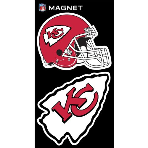 Stockdale Kansas City Chiefs Magnets Multipack