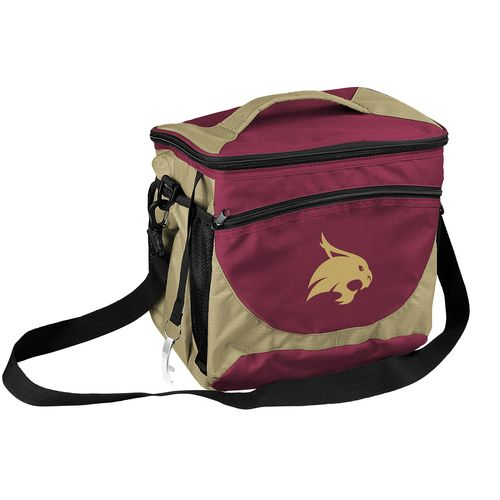 Logo Chair Texas State University 24-Can Cooler Tote
