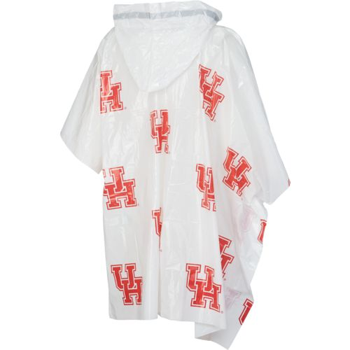 Storm Duds Men's University of Houston Lightweight Stadium Rain Poncho - view number 2