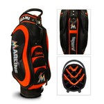 Team Golf Miami Marlins Medalist 14-Way Cart Golf Bag - view number 1