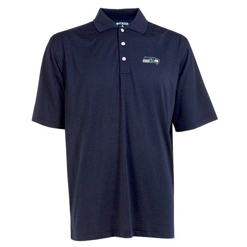 Antigua Men's Seattle Seahawks Phoenix Polo