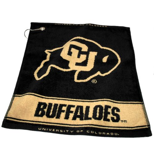 Team Golf University of Colorado Woven Towel