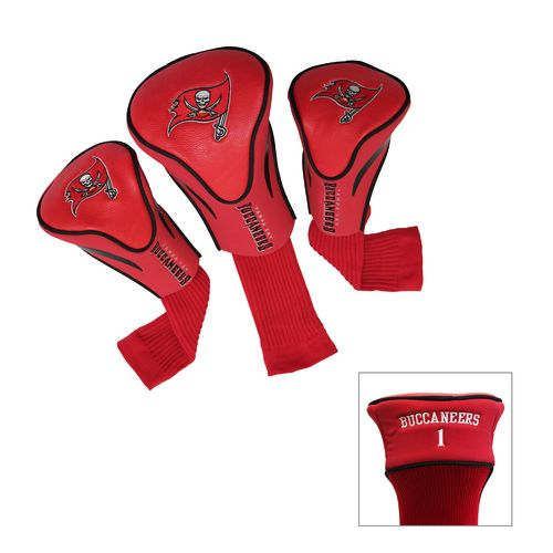 Team Golf Tampa Bay Buccaneers Contour Sock Head Covers 3-Pack