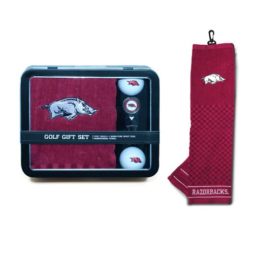 Team Golf University of Arkansas Gift Tin