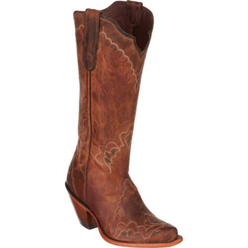 Tony Lama Women's Saigets Worn Goat Label Western Boots - view number 2
