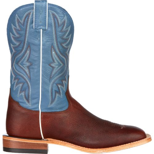 Tony Lama Men's Pecan Bison Americana Western Boots - view number 1