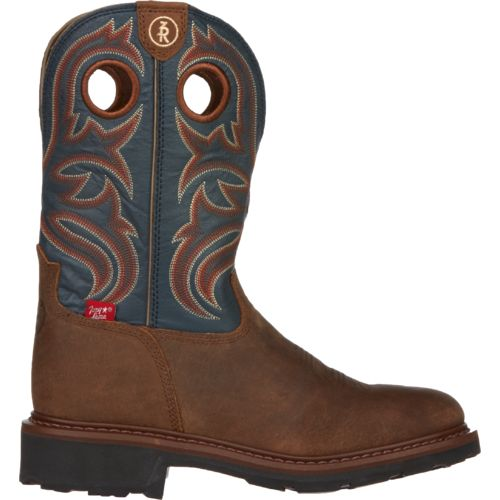 Tony Lama Men's Crazy Horse Buffalo 3R Work Boots