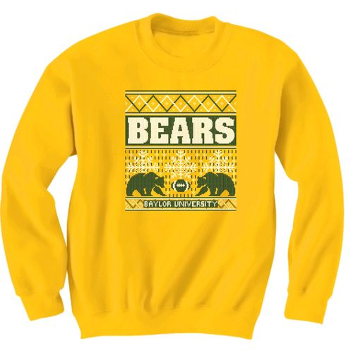 New World Graphics Men's Baylor University Ugly Sweater T-shirt