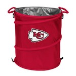Logo™ Kansas City Chiefs Collapsible 3-in-1 Cooler/Hamper/Wastebasket - view number 1