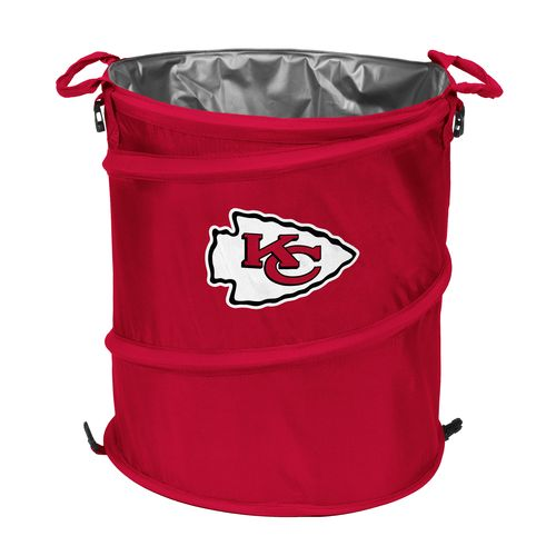 Logo™ Kansas City Chiefs Collapsible 3-in-1 Cooler/Hamper/Wastebasket