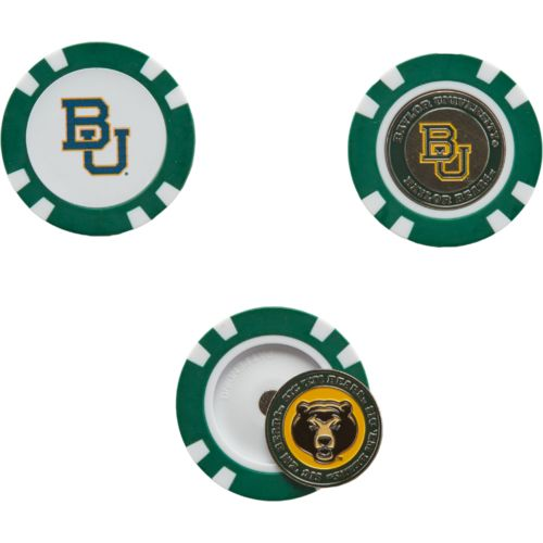 Team Golf Baylor University Poker Chip and Golf Ball Marker Set