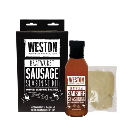 Weston Bratwurst Sausage Tonic Seasoning Kit