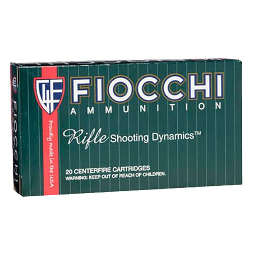 Fiocchi Rifle Shooting Dynamics Pointed Soft Point Centerfire Rifle Ammunition