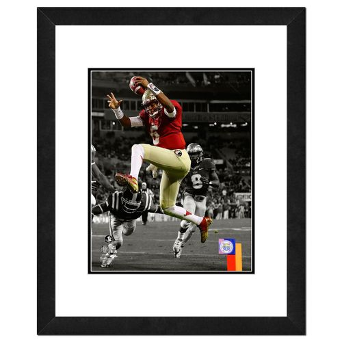 """Discount Photo File Florida State University Jameis Winston 8"""" x 10"""" Matted and Framed Photo free shipping"""