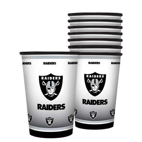 Boelter Brands Oakland Raiders 20 oz. Souvenir Cups 8-Pack - view number 1