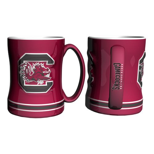 Boelter Brands University of South Carolina 14 oz. Relief Mugs 2-Pack - view number 1