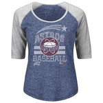 Majestic Women's Houston Astros All In The Win Raglan T-shirt