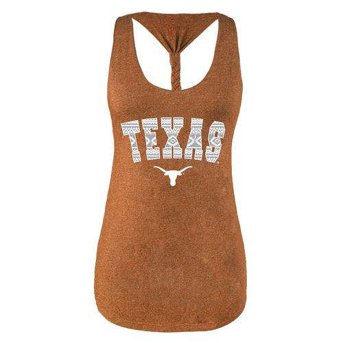 Chicka-d Women's University of Texas Braided Tank Top