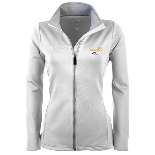 Antigua Women's Denver Broncos SB 50 Champs Leader Jacket