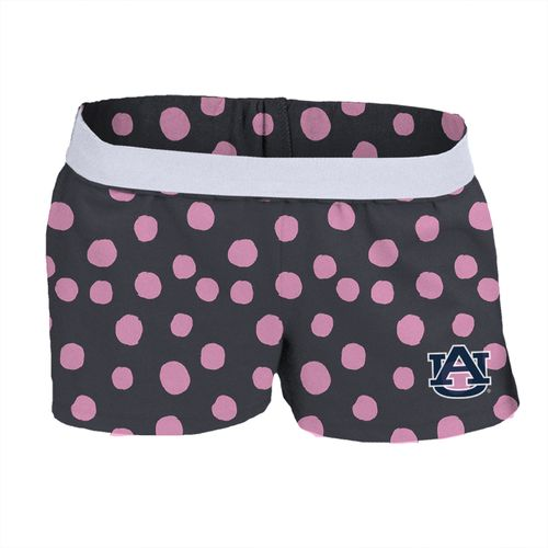 Soffe Girls' Auburn University Printed Authentic Low Rise Short
