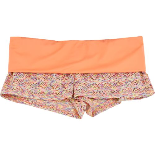 Reef Juniors' Breeze Foldover Swim Short