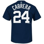 Majestic Men's Detroit Tigers Miguel Cabrera #24 T-shirt - view number 1