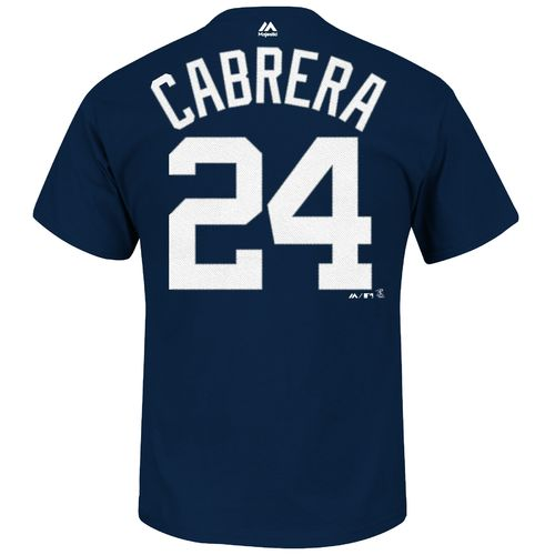 Majestic Men's Detroit Tigers Miguel Cabrera #24 T-shirt