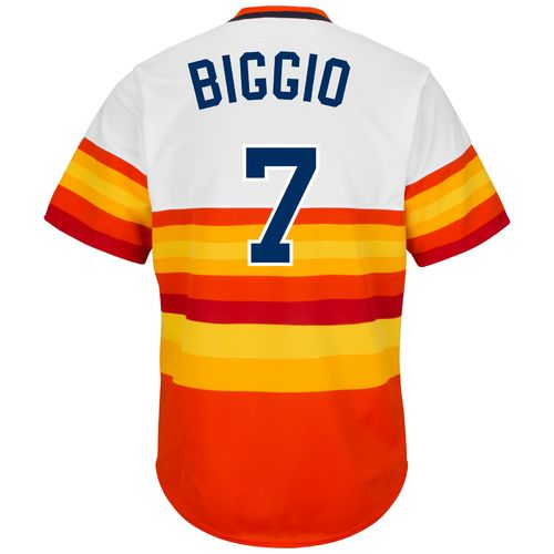 Majestic Men's Houston Astros Craig Biggio #7 Cooperstown Replica Jersey