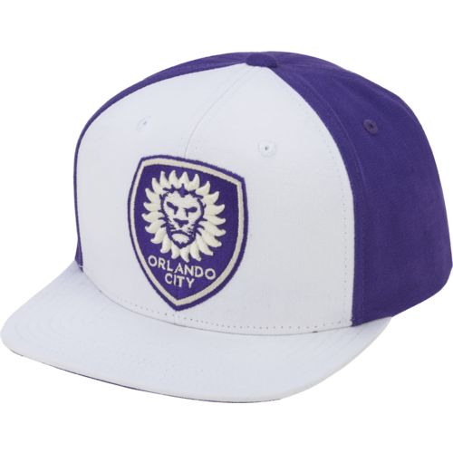 adidas™ Men's Orlando City SC Lifestyle Flat Brim