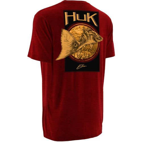Huk Men's KC Scott Redfish Tail Short Sleeve