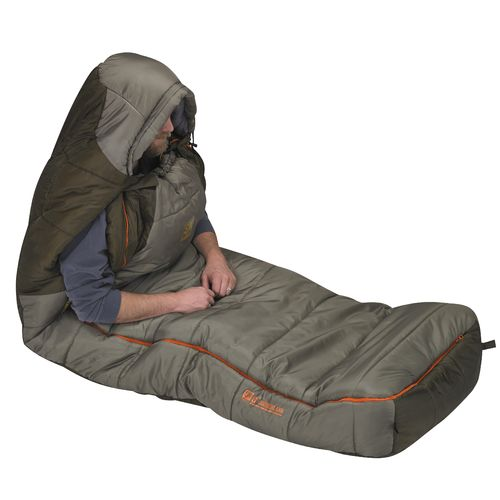 Slumberjack Borderland 0°F Long Dual-Zipper Sleeping Bag - view number 3